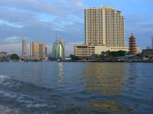 Chao Phraya i Bangkok