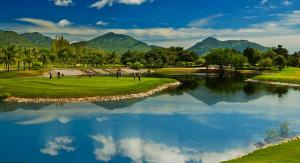 Golfbana i Hua Hin