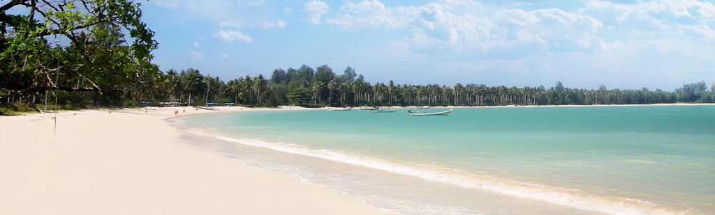 Strand i Khao Lak