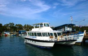 Färja till thailändska öar